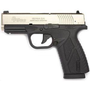 "Bersa BP9CC Pistol 9mm Luger 3.3"" Bbl 8rds Polymer Bi-Tone"