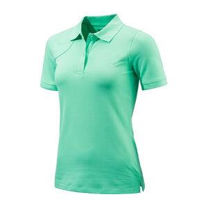 Beretta Women's Corporate Patch Polo Short Sleeve Shirt Size X-Large Cotton Green