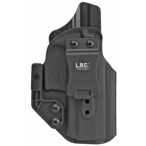 LAG Tactical Appendix MK II Series IWB Holster for SIG Sauer P320 Compact 9/40 Models Right Hand Draw Kydex Construction Matte Black Finish