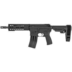 "Radical Firearms AR-15 .300 AAC Blackout Semi Auto Pistol 8.5"" Barrel 30 Rounds Free Float M-LOK Hand Guard/SB Tactical SBA3 Pistol Brace Matte Black Finish"