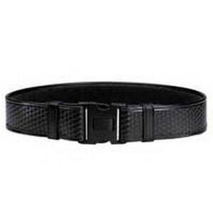 "Bianchi 7950 AccuMold Elite Duty Belt Large 40"" to 46"" Duraskin Basket Black 22127"