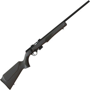 "Rossi RB22M Bolt Action Rimfire Rifle .22 WMR 21"" Barrel 5 Rounds Weaver Scope Mount Synthetic Stock Matte Black Finish"
