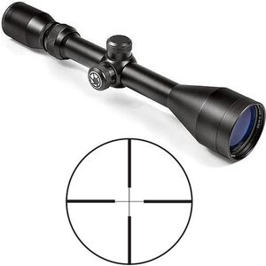 Barska Huntmaster 3-9x50 Riflescope 30/30 Reticle 1/4 MOA Matte Black AC10034