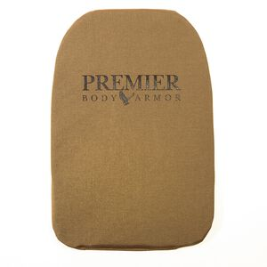 "Premier Body Armor Panel Universal Fit Small 10""x12"" Tan BPP-9006"