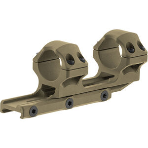 "UTG ACCU-SYNC 1"" Medium Profile 34mm Offset Pic. Rings, FDE"