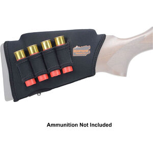 "Beartooth Products Comb Raising Kit 2.0 with Shotgun Ammo Loops 7"" Long Fits Most Shotgun Stocks Neoprene Black"