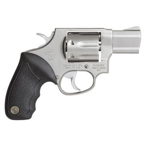 "Taurus 617 Double Action Revolver .357 Magnum 2"" Barrel 7 Rounds Fixed Front Sight/Fixed Rear Sight Soft Rubber Grip Matte Stainless Steel Finish"