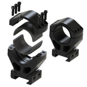 "Burris 30mm 1"" Height XTR Signature Picatinny Rings Customizable MOA Aluminum Matte Black"