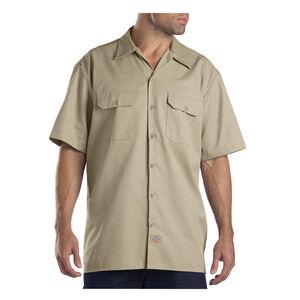 Dickies Men's Twill Work Shirt Extra Large Regular Khaki 1574KH