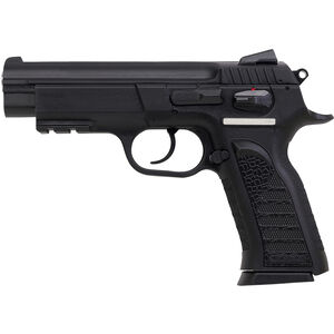"EAA Witness P Semi Auto Handgun 9mm Luger 4.5"" Barrel 17 Rounds Polymer Frame Blued Finish 999104"