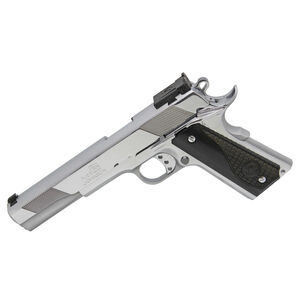 "Iver Johnson Eagle XLC 10mm Auto 1911 Long Slide Semi Auto Handgun 6"" Barrel 8 Rounds Series 70 Style Polished Chrome Finish"