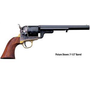 "Taylors & Co Richards-Mason 1851 Navy 38 Special 5.5"" Barrel 6 Rounds Walnut Grip"