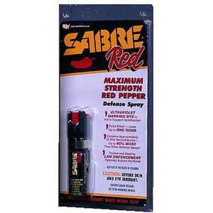 SABRE Red Pepper Spray Pocket Unit With Clip 0.75 Ounces P22OC