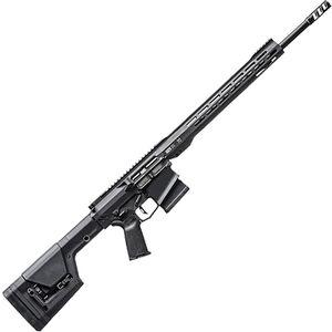 "RISE Armament 1121XR Precision Rifle 6.5 Creedmoor AR-308 Style Semi Auto Rifle 22"" Barrel 20 Rounds 15"" Freefloat M-LOK Handguard Magpul PRS Stock Black Finish"