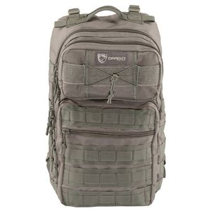 "Drago Gear Ranger 15"" Laptop Backpack MOLLE SEAL Gray"