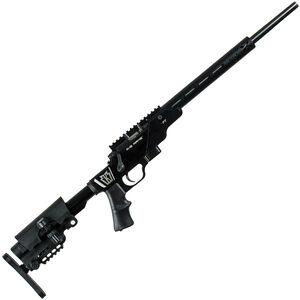 "Keystone 722 PT Bolt Action Rimfire Rifle .22 LR 16"" Threaded Barrel 7 Rounds Target Chamber MOD X Aluminum Chassis Adjustable Stock Blued"