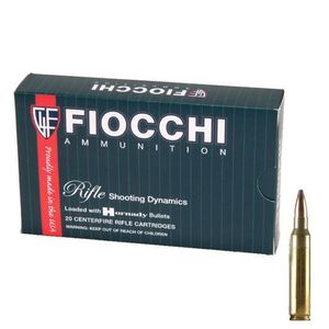 FIOCCHI .30-06 Springfield Ammunition 20 Rounds PSP 150 Grains