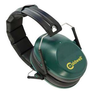 Caldwell Shooting Supplies Low Profile Range Earmuffs 25dB NRR Green 498024