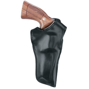 """Gould & Goodrich S&W 4"""" K Frame Double Retention Holster RIght Hand Leather Black B501-34"""