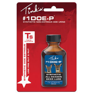 Tinks Doe-P Synthetic Non-Estrous Doe Urine 1 oz. W5257