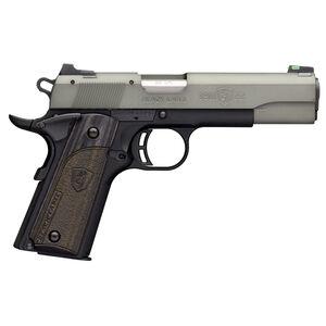 "Browning 1911-22 Black Label Gray Semi Auto Pistol 22 LR 4.25"" Barrel 10 Rounds Black/Gray"