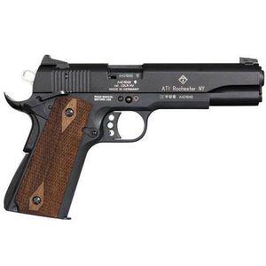 "American Tactical Imports M1911 Semi Auto 1911 .22 LR 5"" Barrel 10 Rounds Black Finish Wood Grips GERG2210M1911CA"