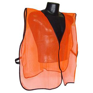 Radians Non Rated Safety Vest Mesh Universal Size Orange SVO