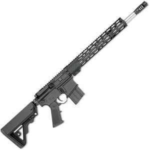 "Rock River LAR-15M Mid-Length A4 .450 Bushmaster AR-15 Semi Auto Rifle 16"" Barrel 7 Rounds Free Float M-LOK Handguard Collapsible Stock Black Finish"