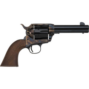 "E.M.F. Great Western II Californian Revolver 45 LC 4.75"" Barrel 6 Rounds Case Hardened Frame Walnut Grips Blued"