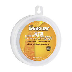 "Seaguar STS Salmon and Trout SteelHead Saltwater Fluorocarbon Line .010"" Diameter 10 lb Tested 100 Yards Clear"