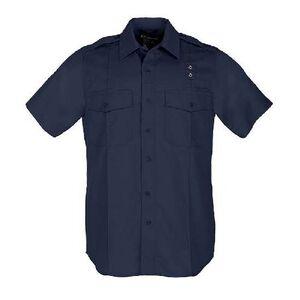 5.11 Tactical Women's Taclite PDU Class-A Short Sleeve Shirt Size Small Regular Taclite Dark Navy 61167