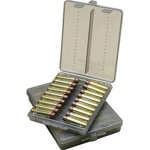 MTM Case-Gard Handgun Ammo Wallet .38 and .357 Holds 18 Rounds See-Thru Smoke Tint Finish