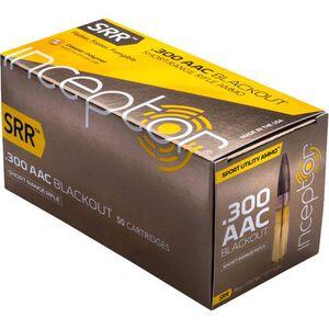 Polycase Inceptor SRR .300 Blackout Ammunition 50 Rounds Frangible 88 Grains 300SRRBLK-50