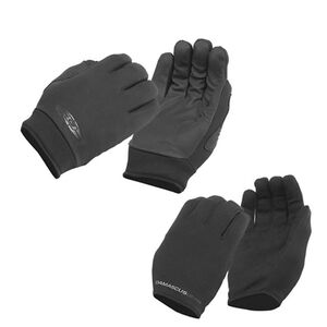 Damascus Worldwide Inc All-Weather Gloves 2 Pair Combo Pack Large Black