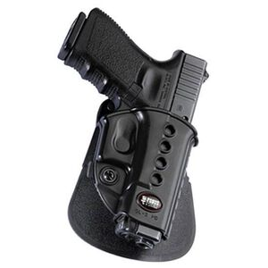 Fobus Evolution Holster SIG P220,P226 Right Hand Paddle Attachment Polymer Black