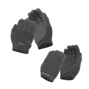 Damascus Worldwide Inc Tactical Gloves 2 Pair Combo Pack Medium Black