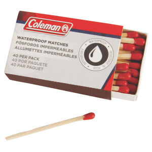 Coleman Waterproof Matches 40 Per Pack