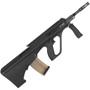 "Steyr AUG A3 M1 5.56 NATO Semi Auto Bullpup Rifle 16"" Barrel 30 Round AUG Pattern Magazine Extended Picatinny Rail Polymer Stock Matte Black"