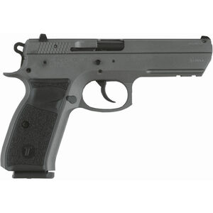 "TriStar P120 9mm Luger Semi Auto Pistol 4.7"" Barrel 17 Rounds Aluminum Frame Tungsten Grey"
