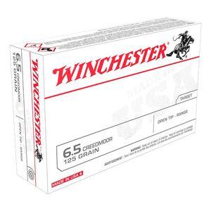Winchester USA 6.5 Creedmoor 125 Grains FMJ Open Tip 40 Rounds USA65CMXL