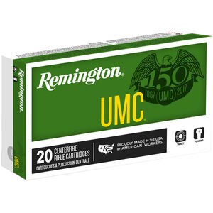 Remington UMC .300 Blackout Ammunition 50 Rounds 220 Grain OTFB 1015fps