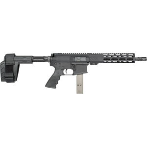 "Rock River LAR-9 9mm Luger AR-15 Semi Auto Pistol 10.5"" Barrel 32 Rounds Uses Colt Style SMG Mags RRA M-LOK Free Float Handguard SB-Tactical Pistol Brace Black"