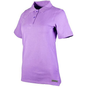 Beretta Special Purchase Women's Corporate Polo Short Sleeve Medium Cotton Purple