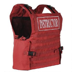 Voodoo Tactical Instructor Armor Carrier Vest Safety Red 20-0054016000