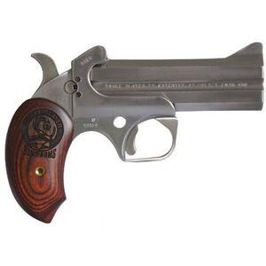"Bond Arms Snake Slayer IV Derringer .45 Long Colt and .410 Bore 4.25"" Barrels Extended Rosewood Grip Satin Polish Stainless Steel Finish BASSIV45/410"