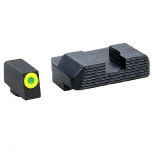 AmeriGlo Tritium Protector Sight Set For GLOCK, Steel
