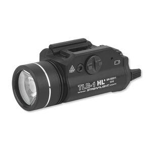 Streamlight TLR-1 HL LED Tactical Light for Firearms, 800 Lumens, Aluminum, Black