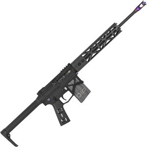"BAD Battlearms OIP 002 Ultra Lightweight 5.56 NATO AR-15 Semi Auto Rifle 16"" Barrel 20 Rounds 10"" Freefloat Carbon Fiber M-LOK Handguard Fixed Stock Black Finish"