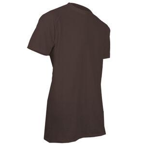 XGO FR Phase 1 Men's Flame Retardant Short Sleeve T-Shirt XL Modacrylic and FR Rayon Blend Coyote