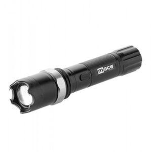 Mace 4,500,000 Variable Focus Flashlight/Stun Gun Rechargeable LED Black